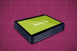平板电脑设备展示样机V.3 Tablet Mockup V.3插图10