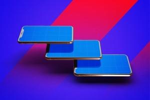 iPhone Xs手机应用UI设计展示样机模板 iPhone XS V.1插图10