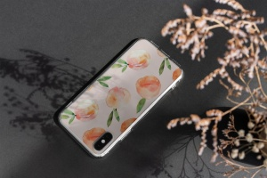 iPhone手机透明保护壳外观设计样机模板 iPhone Clear Case Mock-Up's插图7