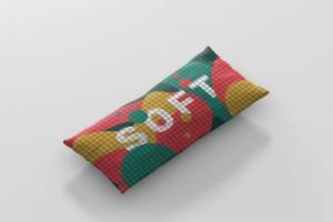 时尚多彩长矩形沙发卧室枕头样机模板 Pillow Mockup – Long Rectangle插图9