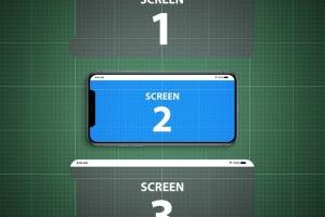iPhone X应用程序演示设备样机V.1 Animated iPhone X MockUp V.1插图8