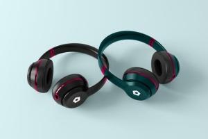 高品质头戴运动音乐耳机样机模板 Headphones Mockup插图7