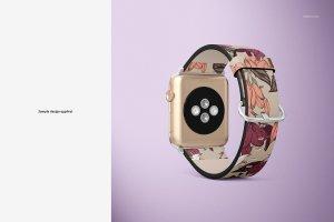 一流设计素材网下午茶:高品质的Apple Watch表带展示模型Mockup下载 1.27 GB[psd]插图7