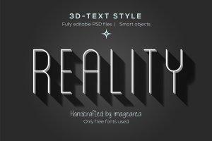 创意3D文本图层样式 Amazing 3D Text Styles插图10