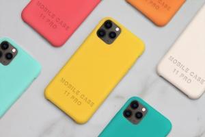 iPhone 11 Pro手机保护套保护壳外观设计样机模板 iPhone 11 Pro Case Mockup插图2