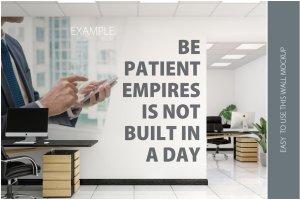 办公室墙纸设计样机模板合集 OFFICE Interior Wall Mockup Bundle插图11