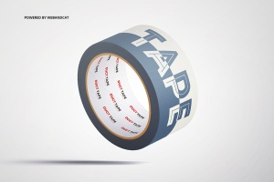 纸胶带外观图案设计样机 Paper Duct Tape Mockup插图8