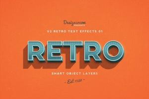80年代复古风格文本特效PS字体样式v1 Retro Text Effects V2插图5