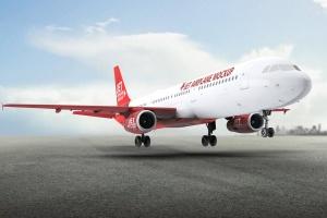 空客A321空中巴士中短程客机样机 Jet Airplane A321 Mock-Up插图1