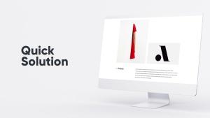 网站UI界面设计效果图预览白色iMac电脑样机模板 White iMac Mockup插图11