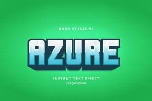 创意游戏字体设计特效AI图层样式v2 Game Styles for Illustrator V2插图10