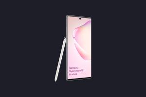 三星Galaxy Note 10手机样机模板 Samsung Galaxy Note 10 Mockup 1.0插图7