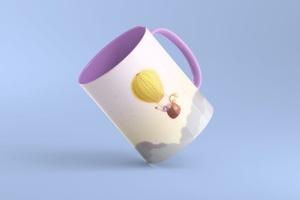 3D马克杯外观设计样机模板 Mug Mockup插图2
