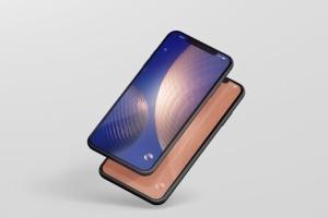 高品质的iPhone XS Max智能手机样机模板 Phone XS Max Mockup插图8