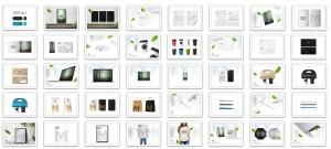 41合1品牌VI视觉设计/Logo设计效果图样机素材包 Branding Items Mock-up for guidelines. 41 PSD插图4