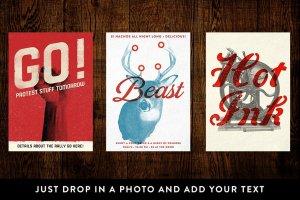 时尚海报制作图层样式 IndiePress – Quick Poster Maker插图2