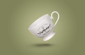 陶瓷茶杯咖啡杯外观设计样机模板v2 Cup Mockup 2.0插图7