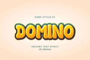 创意游戏字体设计特效AI图层样式v2 Game Styles for Illustrator V2插图4