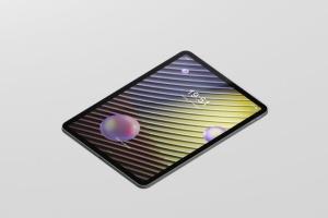 iPad Pro平板电脑屏幕设备样机 Pad Pro Tablet Screen Mockup插图6