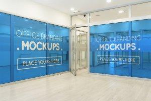 20多个办公室品牌样机展示模型mockups插图3