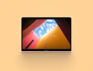 MacBook 2019版本Web网站设计案例展示样机 Macbook Air 2019 Mockup插图6
