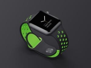 超级主流桌面&移动设备样机系列:Apple Watch 智能手表样机 [兼容PS,Sketch;共2.92GB]插图8