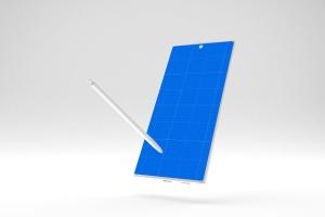 简约风格三星Note 10智能手机样机模板 Clean Note 10 Mockup插图12