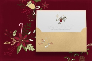 圣诞节主题矢量手绘剪贴画素材 Christmas Cliparts插图3