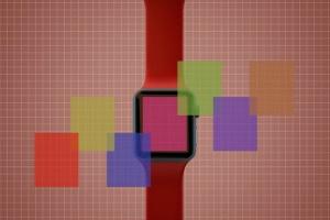 Apple智能手表APP设计展示设备样机V.3 Apple Watch Mockup V.3插图9