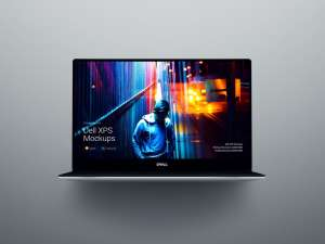 超级主流桌面&移动设备样机系列:Dell  XPS 超极本样机 [兼容PS,Sketch;共1.9GB]插图7