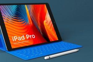 多角度的iPad Pro展示模型Mockup下载[psd]插图2