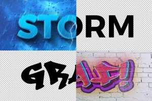 3D 文本图层样式合集 3D Text Effects Vol.2插图5