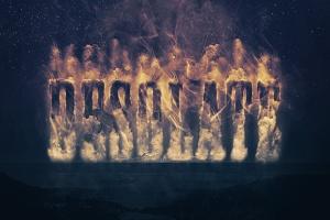 大气烟雾萦绕字体特效PSD分层模板 Smoke Logo Text Effect插图6