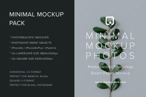 iPad & iPhone 真实场景样机模板 Minimal Mockup Pack Photorealistic插图7