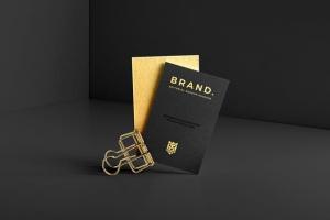 豪华尊贵VIP名片样机套装Vol.1 Business Cards Mockup Vol. 1插图3