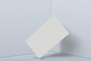 企业名片设计侧立效果图样机模板v2 Business Card Mockup 02插图2