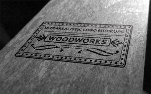 质感超级写实的经典品牌LOGO设计展示模型Mockups[PSD]插图5