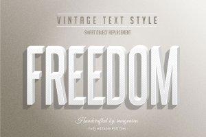 复古条纹风格文本图层样式 Vintage / Retro Text Styles插图9