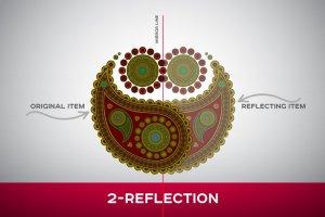 曼陀罗装饰元素AI图层模板 Ai Mandala Ornament Templates插图2