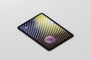 iPad Pro平板电脑屏幕设备样机 Pad Pro Tablet Screen Mockup插图2