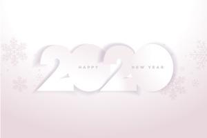 圣诞节庆祝暨迎接2020年主题矢量插画设计素材v5 Happy New Year 2020插图2
