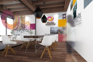 工作室/办公室品牌样机模板v2 Studio/ Office Branding Mockups V2插图1
