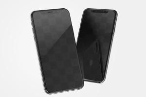 iPhone X手机界面设计效果图预览样机02 iPhone X Mockup 02插图1