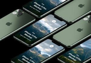LS出品最新iPhone 11 Pro免费样机模板素材[PSD,SKETCH&FIGMA]插图1