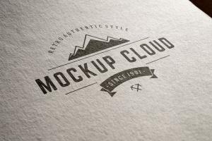 徽标Logo印刷效果展示样机合集 Logo Mockup Set插图12