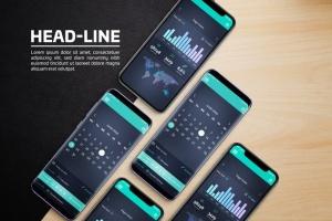 Android & iOS 客户端UI设计演示样机 Android & iOS Mockup插图2