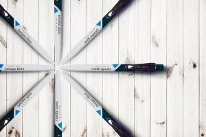 圆珠笔签字笔样机模板v11 Pen Mockup V.11插图1