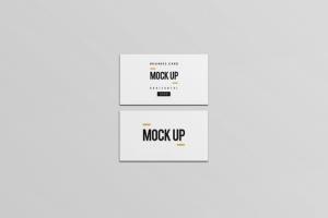 等距平铺企业名片设计样机模板 Business Card Mock Up插图7
