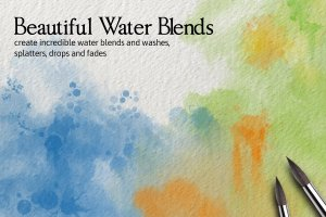 Procreate专用42款油漆&水彩画笔套装插图(4)