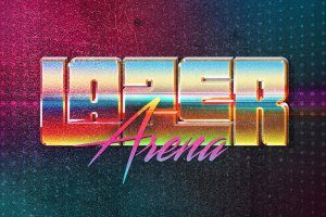 80s年代文本图层样式Vol.2 80s Text Effects Vol.2插图15